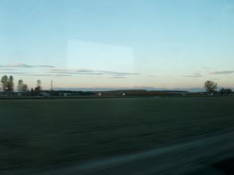 In treno verso trieste