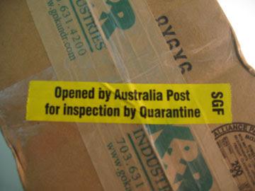 Cosa non si può spedire per posta in Australia?